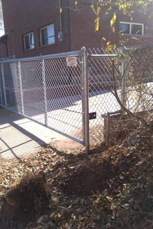 chain link gate cantilever colorado springs
