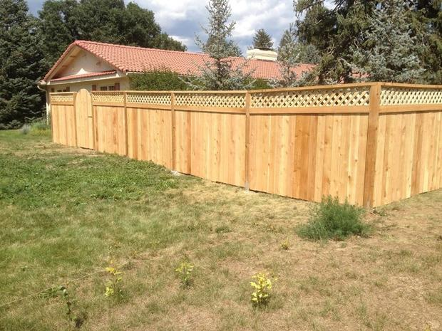 Free Quotes For Lattice Top Fence Install Repair In Colorado