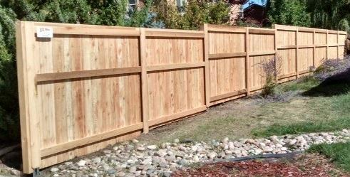 Cedar Privacy Fence Contractor In Colorado Blicks Fencing